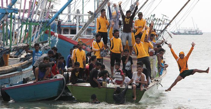 Semarak Pesta Laut Kuala Samboja
